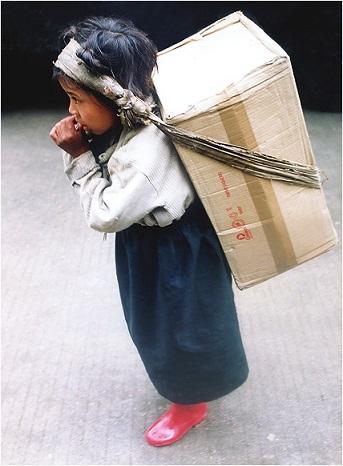 5 year tibet child